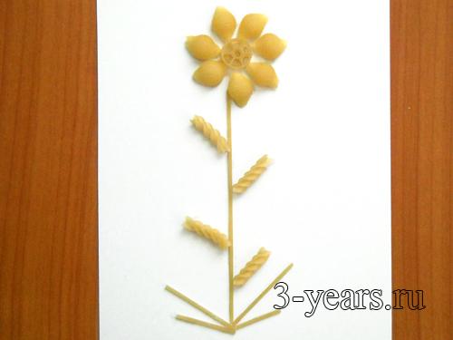 Как делать поделку цветочек