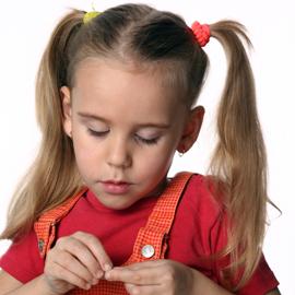 Как отрастить волосы ребёнку