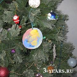 Новогодние гирлянды для елки своими руками