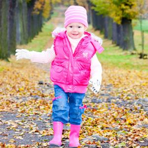Что одеть ребёнку осенью